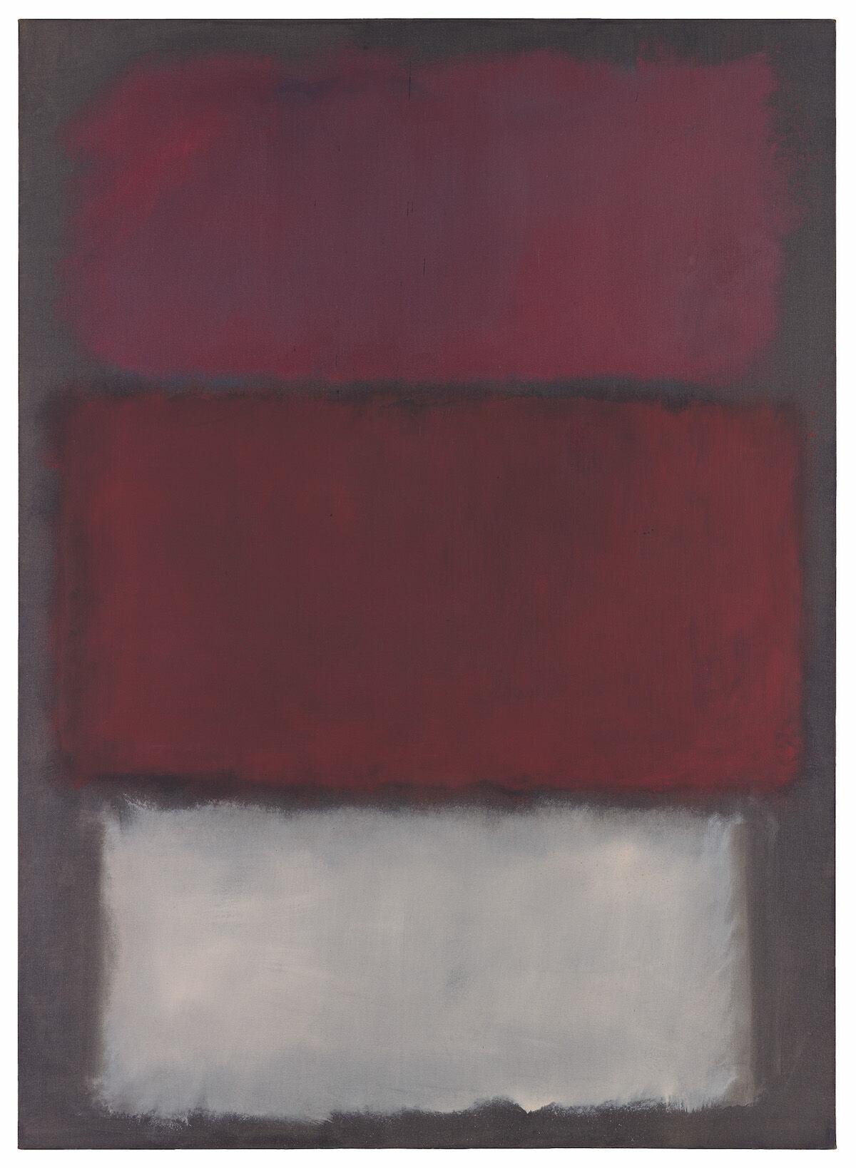 Mark Rothko, Untitled, 1960, oil on canvas. Est. $35 million–50 million. © 1998 Kate Rothko Prizel and Christopher Rothko / Artists Rights Society (ARS), New York.