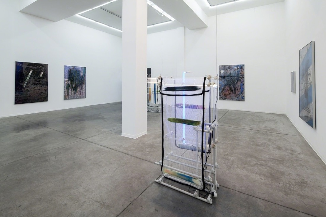 "Installation view of ""Command Shift 4"" at Hezi Cohen Gallery. Photo by Tal Nisim, courtesy of Hezi Cohen Gallery."