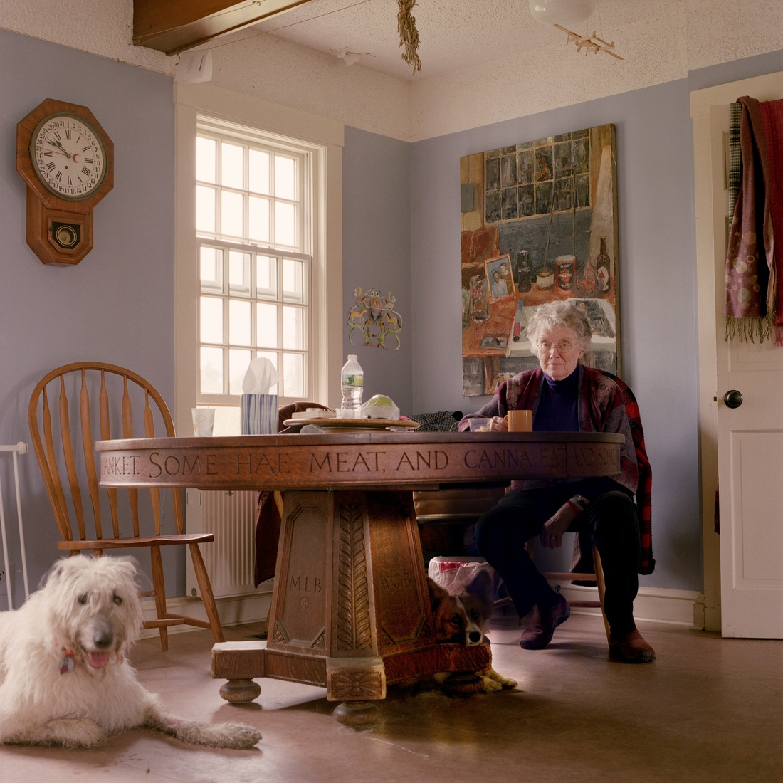 Tanja Hollander, Mary Bok, Camden, Maine, 2011. Courtesy of Tanja Hollander and MASS MoCA.