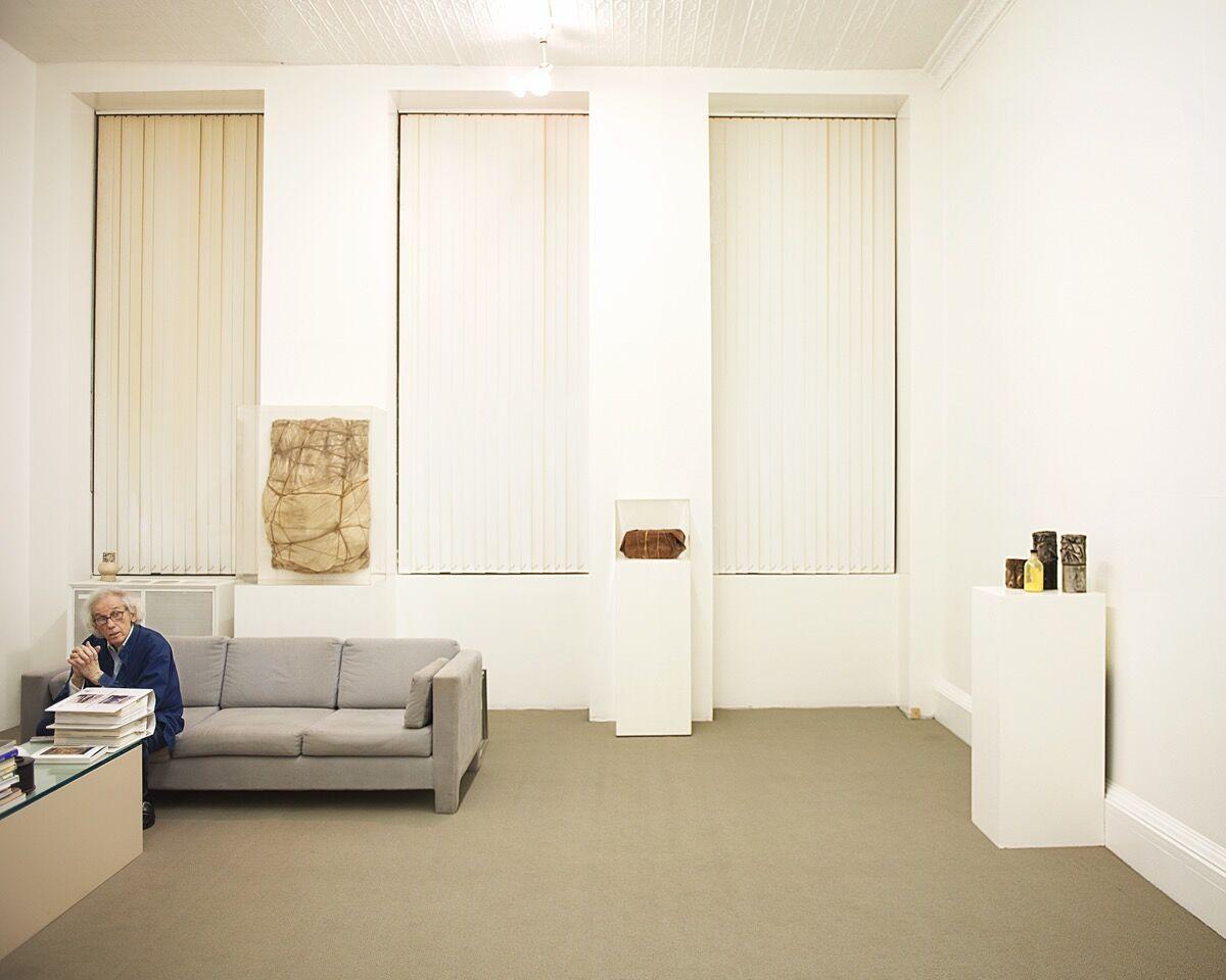 Christo, February 10, 2011, New York, New York. Portrait by Jason Schmidt.