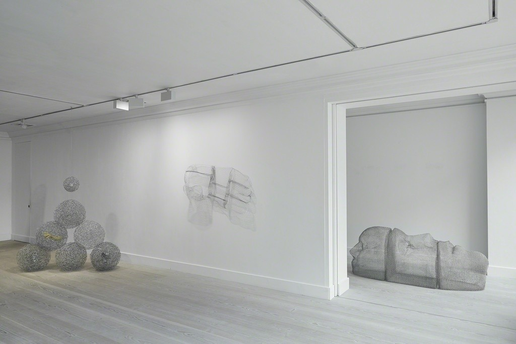 "Installation view of ""Mother Mould,"" Gazelli Art House, London. Courtesy Gazelli Art House and the artist."
