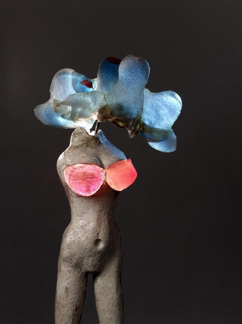 Alina Szapocznikow, Illuminowana [Illuminated Woman], 1966–67, courtesy the Estate of Alina Szapocznikow,Piotr Stanislawski,Andrea Rosen Gallery, New York, andGalerie Loevenbruck, Paris.© The Estate of Alina Szapocznikow