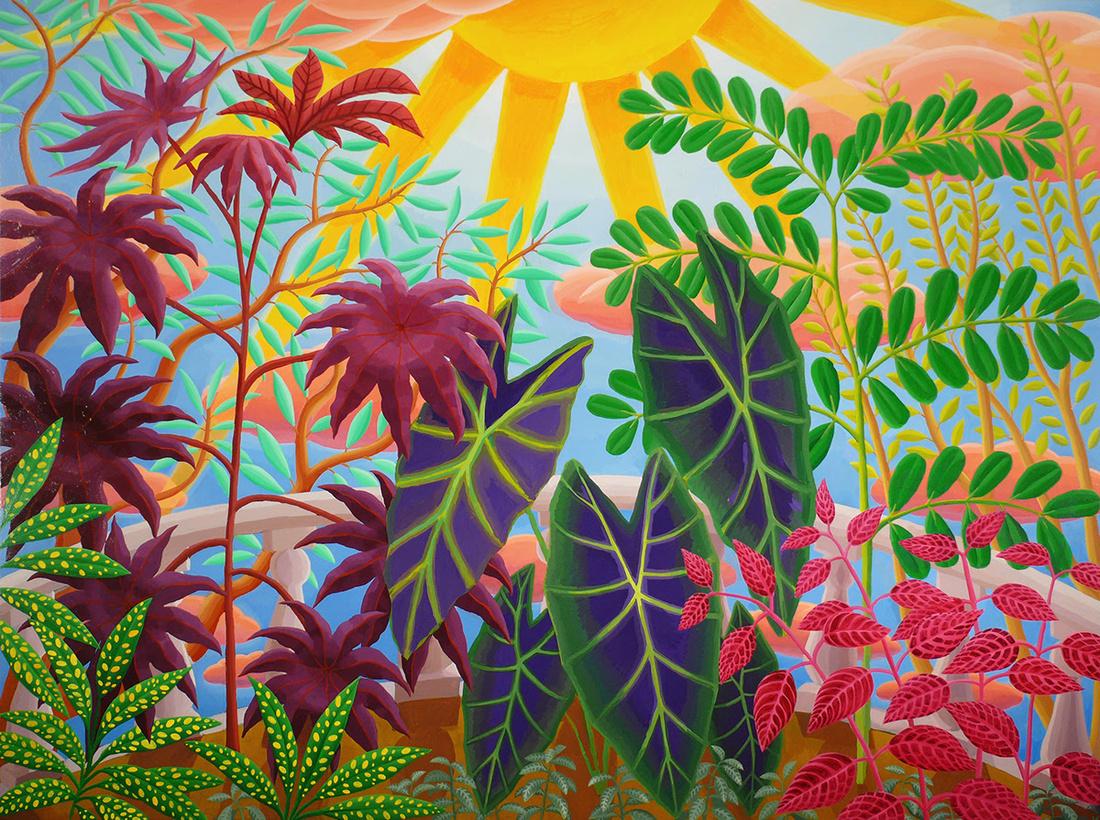 Amy Lincoln,Veranda Sunlight, 2016. Courtesy of Project: ARTspace.