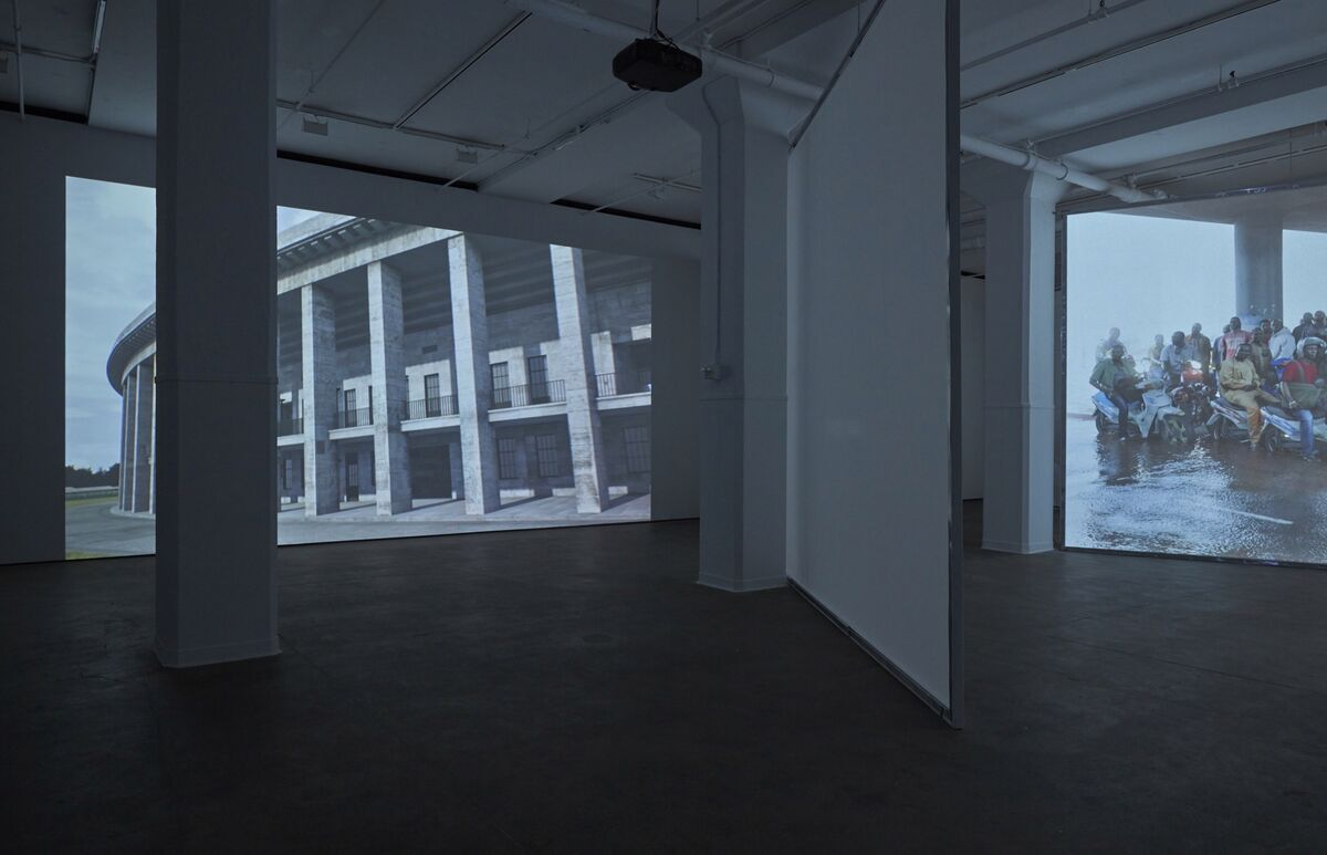 "Installation view of ""LIGHT/WORK"" at Sean Kelly, New York. Photo by Jason Wyche, New York. Courtesy of Sean Kelly, New York."