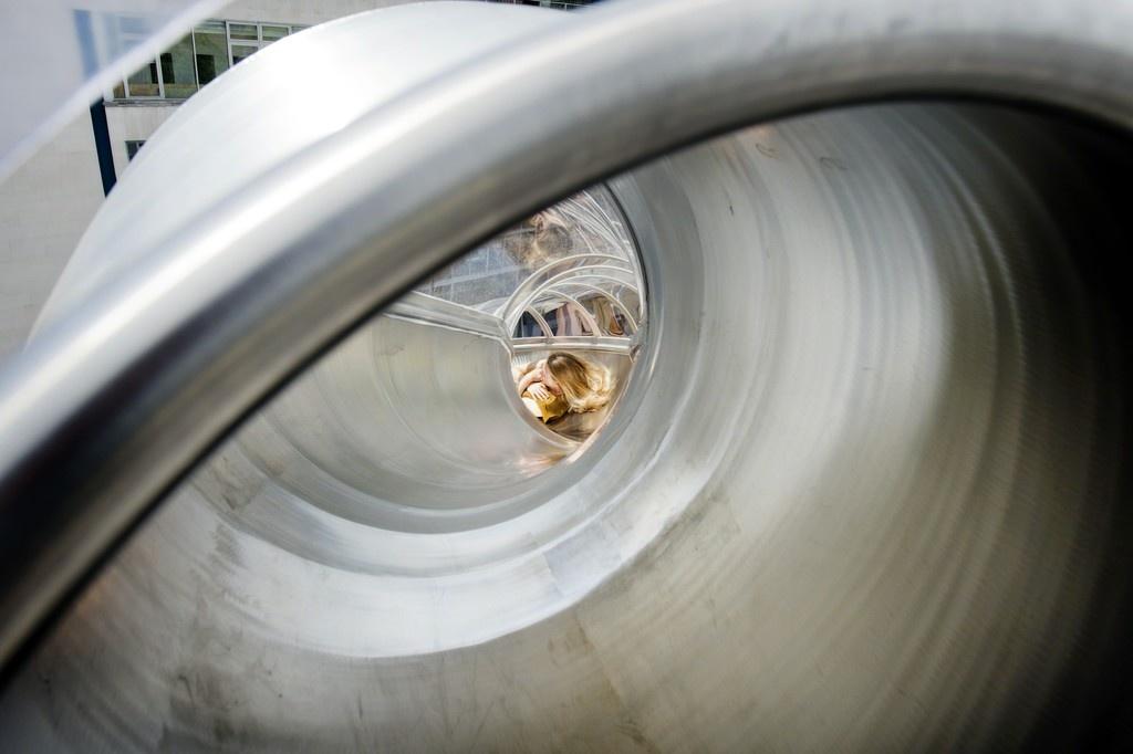 Carsten Höller, isometric slides, image courtesy ofthe Hayward Gallery.
