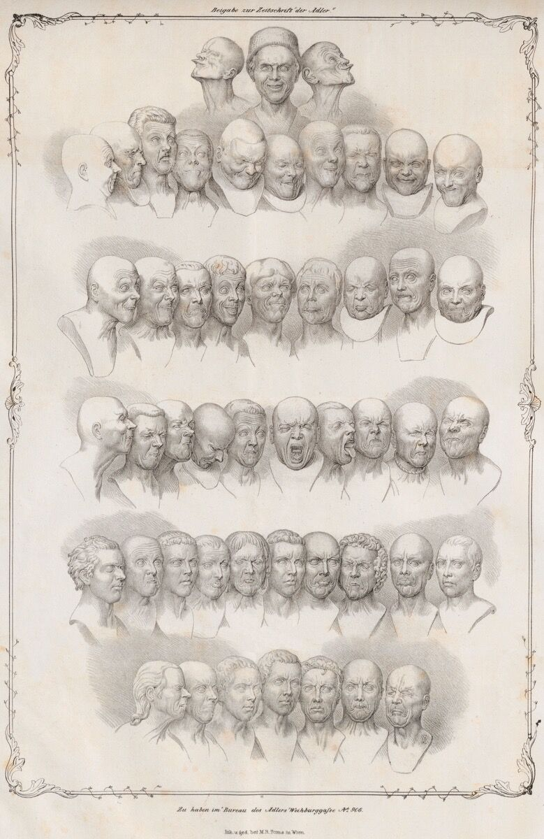 "Matthias Rudolph Toma, Messerschmidt's ""Character Heads,"" 1839. Photo via Wikimedia Commons."