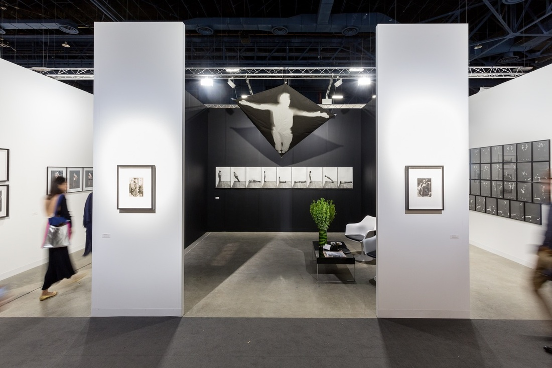 Installation view of Kicken Berlin's booth at Art Basel in Miami Beach, 2016. Photo by Alain Almiñana for Artsy.
