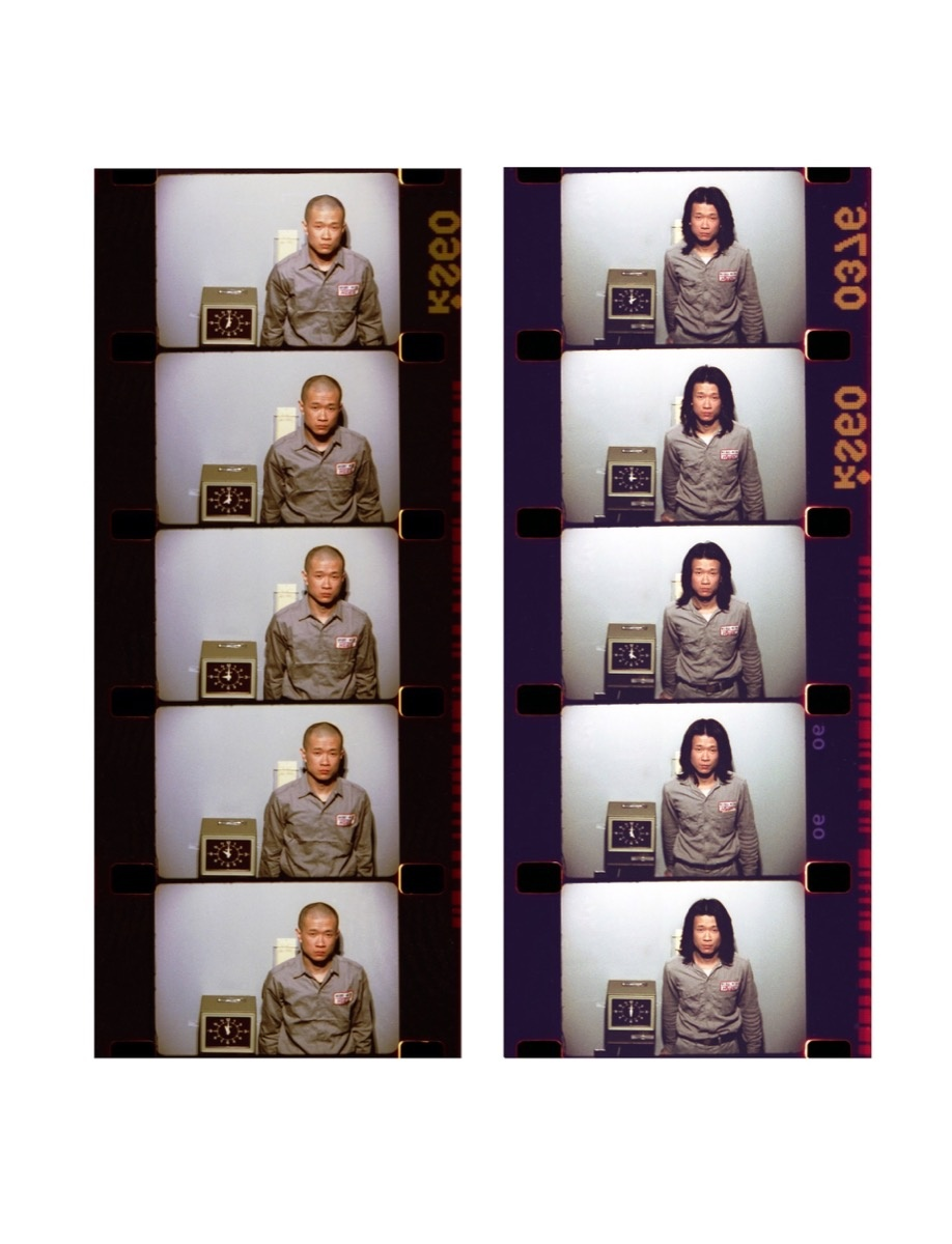 Tehching Hsieh, One Year Performance 1980-1981, New York. The First Five Hours of Images and the Last Five Hours of Images in the Year. © Tehching Hsieh. Courtesy of the artist and Sean Kelly, New York