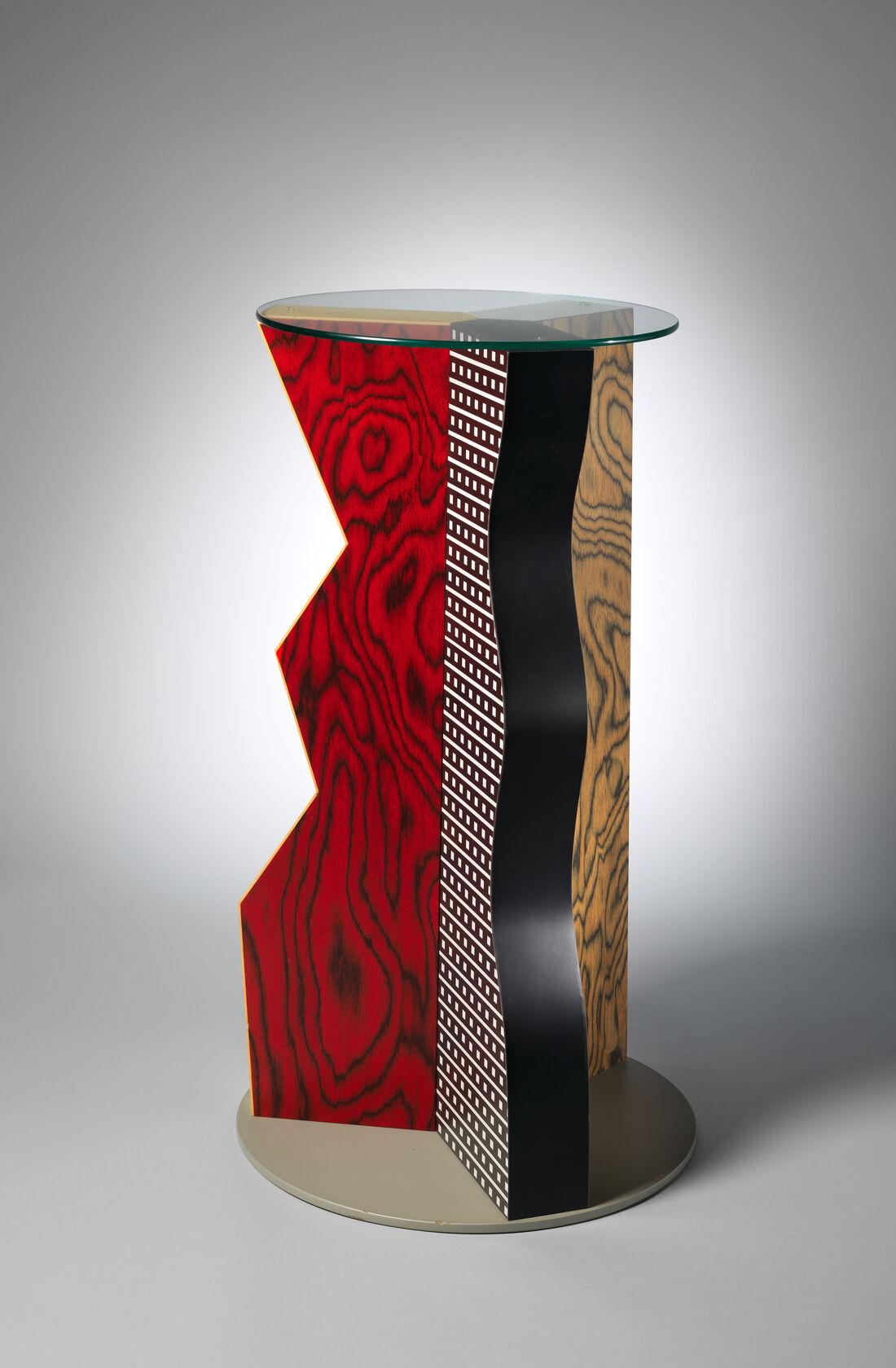 "Ettore Sottsass, ""Ivory"" Table, 1985. Courtesy of the Metropolitan Museum of Art, Gift of Dr. Michael Sze, 2002 © Studio Ettore Sottsass Srl."