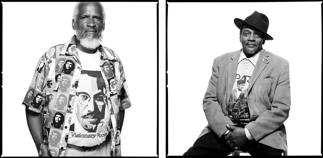 Left: Atno Smith; Right: Bill BJ Johnson. Photographs by Bryan Shih, 2011–2015, courtesy of the artist and Queens Museum.