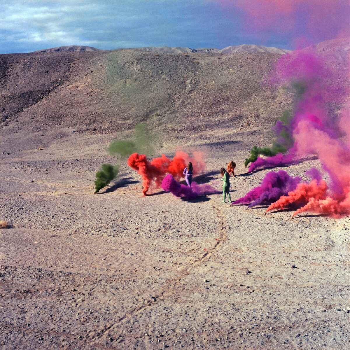 Judy Chicago, Smoke Bodies, 1972. © Judy Chicago. Courtesy of Through the Flower Archives.