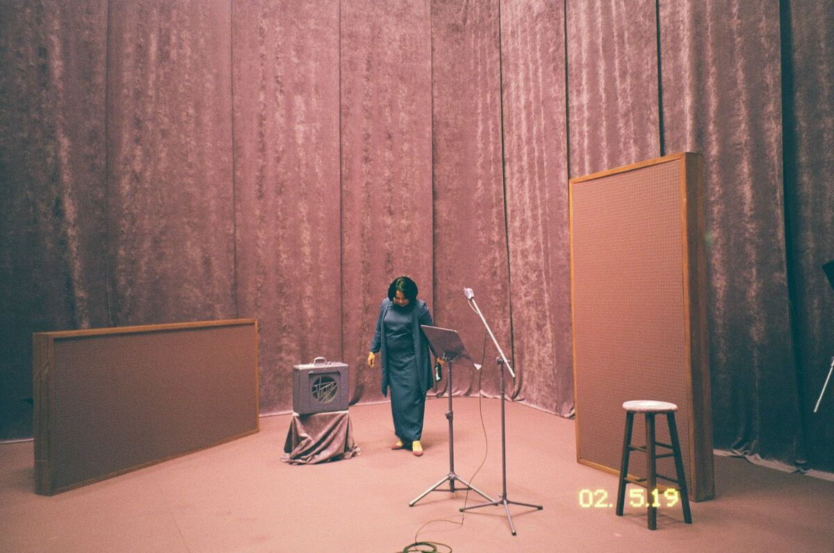 Martine Syms, Incense Sweaters & Ice (film still), 2017. Courtesy of the artist and Bridget Donahue, New York.