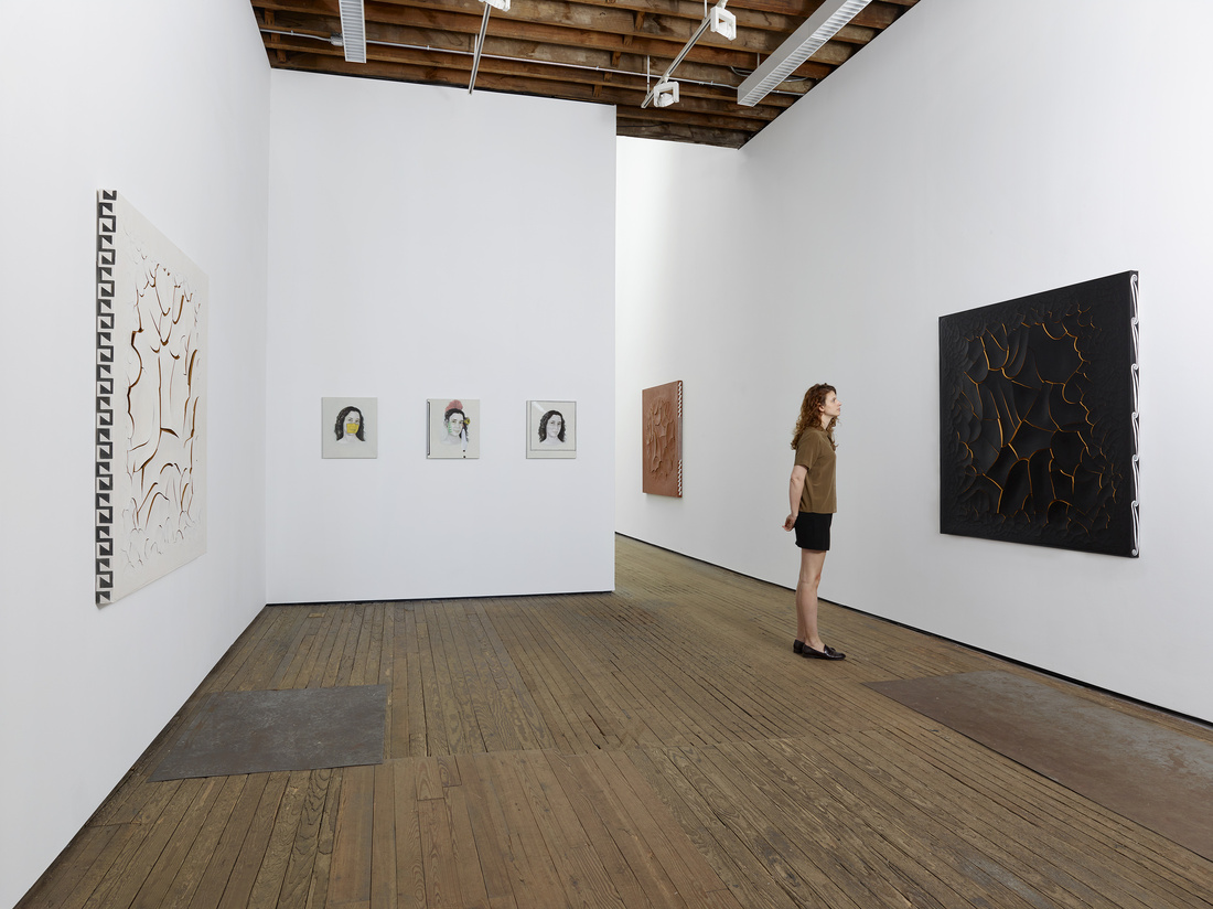 Installation view of Adriana Varejao at Lehmann Maupin, 2016. Photo by Elisabeth Bernstein. Courtesy of the artist and Lehmann Maupin, New York and Hong Kong.