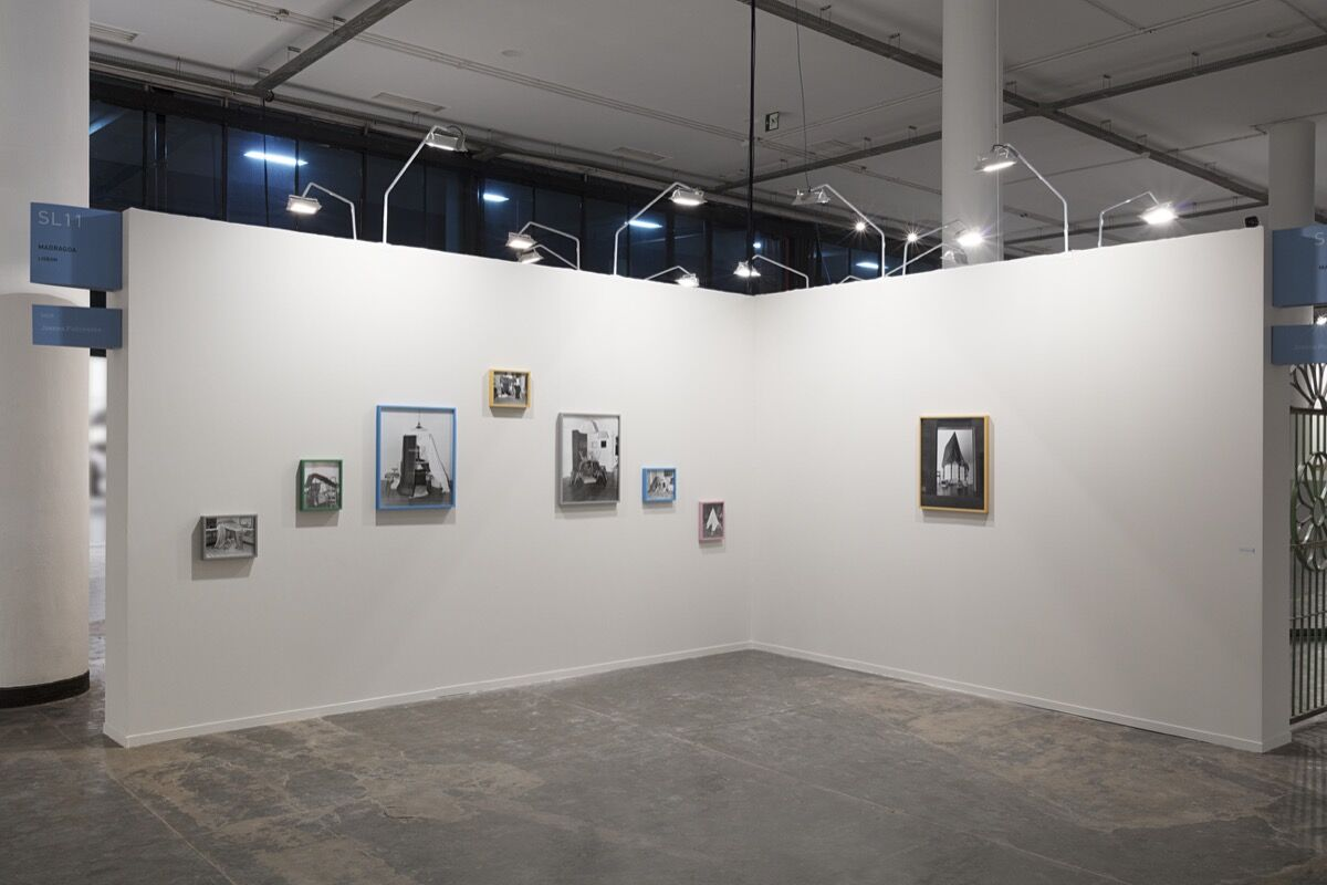 Installation view of Joanna Piotrowska's work at Madragoa's booth at SP-Arte, 2017. Courtesy of Madragoa.