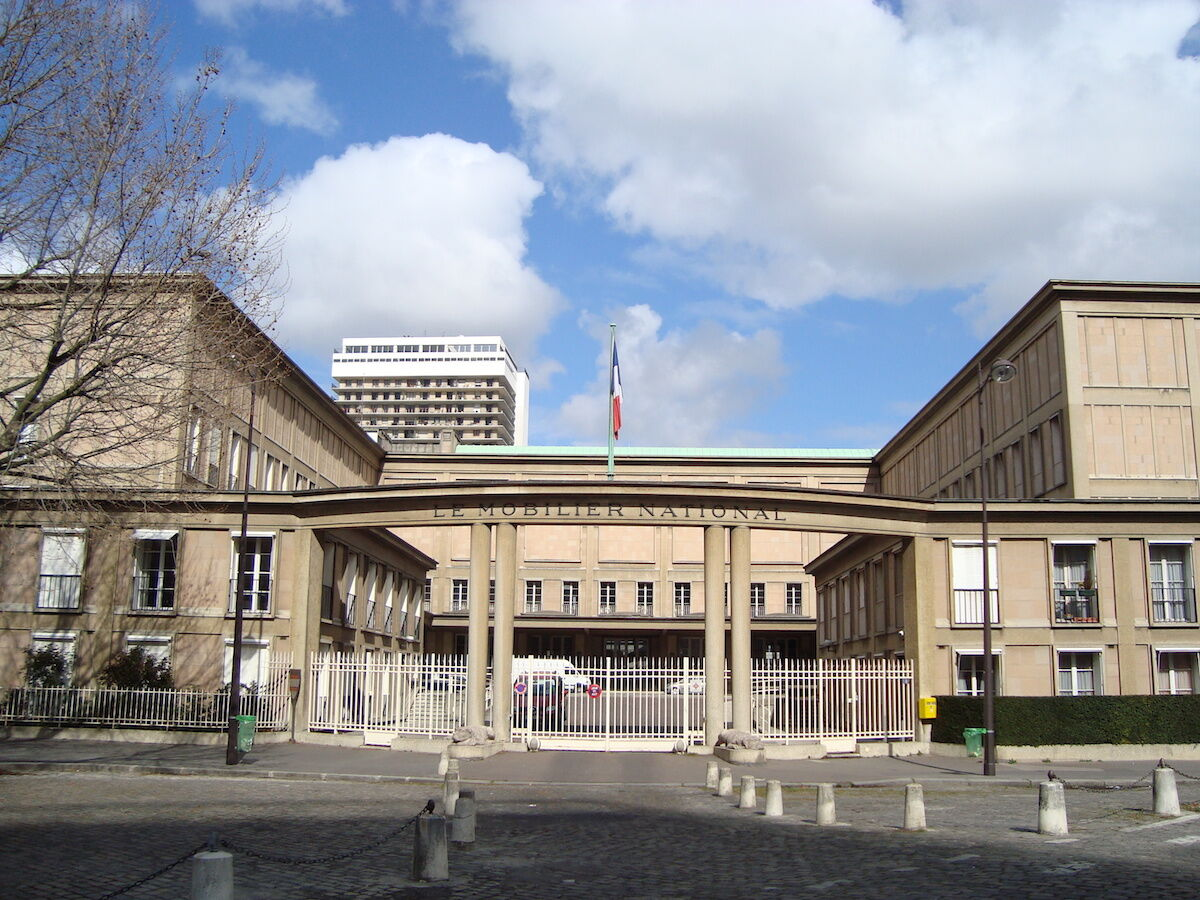 The headquarters of the Mobilier National in Paris. Photo by LPLT, via Wikimedia Commons.