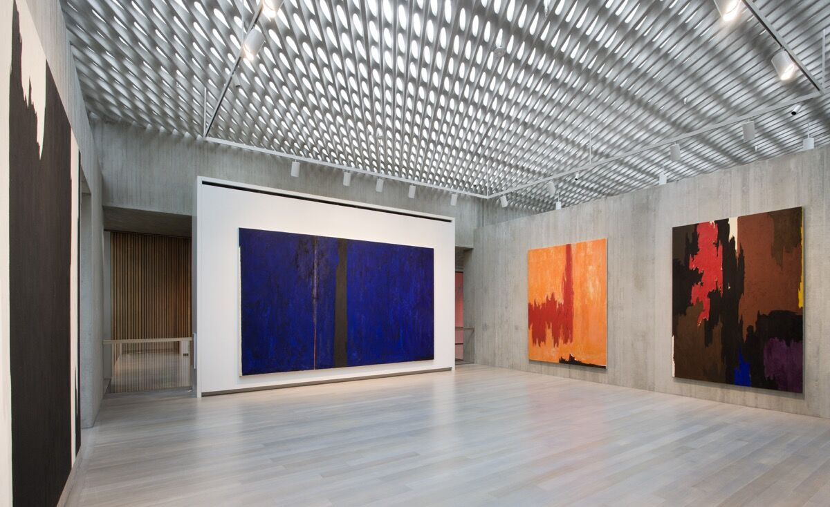A view of the Lanny and Sharon Martin Galleries at the Clyfford Still Museum. Photo by Raul Garcia, courtesy of the Clyfford Still Museum.