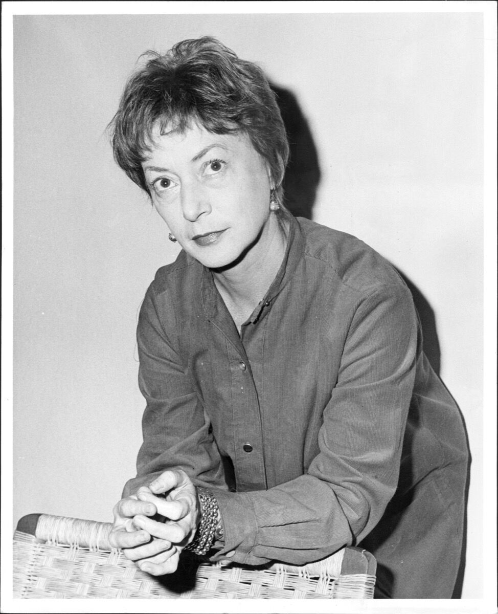 Elaine de Kooning, October 21, 1962. Photo by Carl Gaston/New York Post Archives /© NYP Holdings, Inc. via Getty Images.