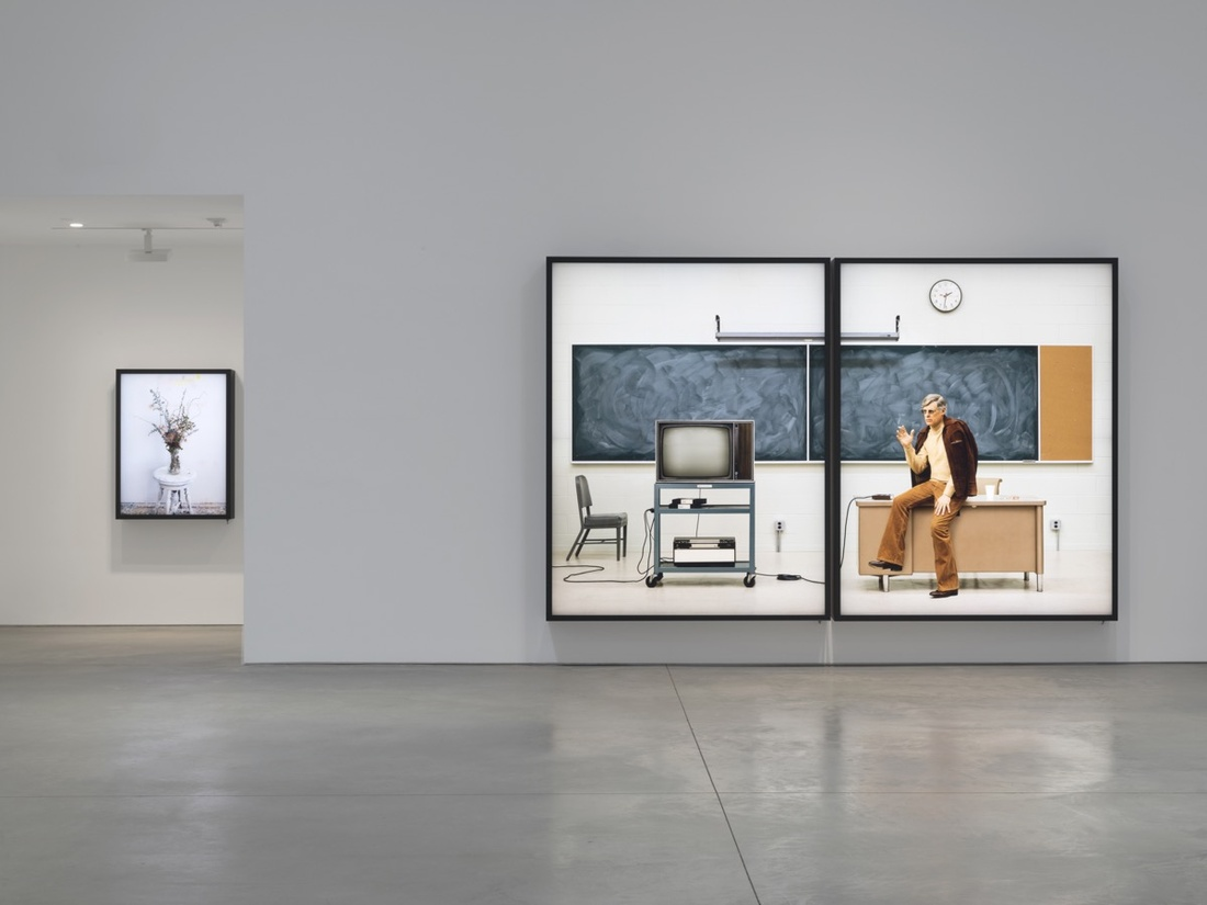 Installation view of Rodney Graham at 303 Gallery. Photo courtesy of 303 Gallery.