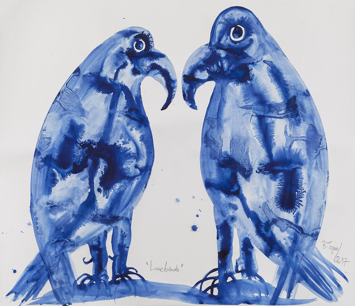 Barthélémy Toguo, Love Birds, 2017. Courtesy of HDM.