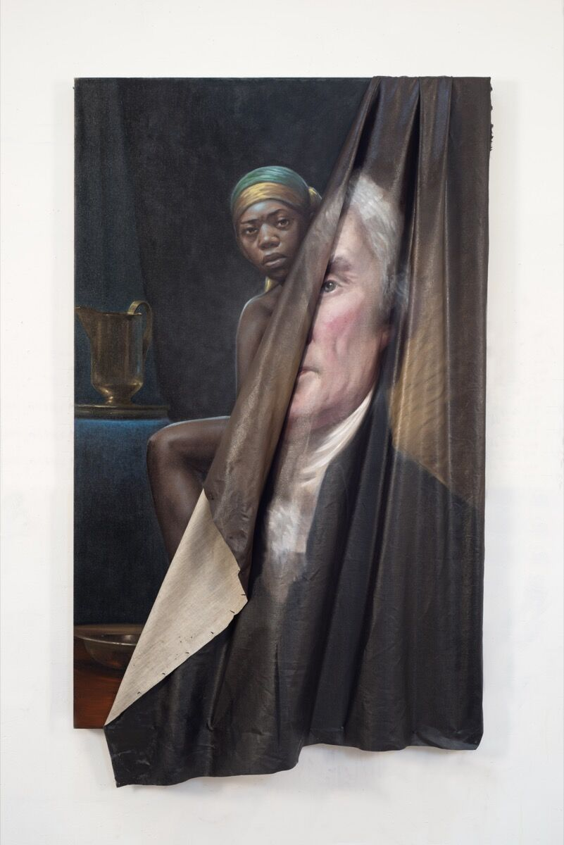 Titus Kaphar, Behind the Myth of Benevolence, 2014. Courtesy of the artist.