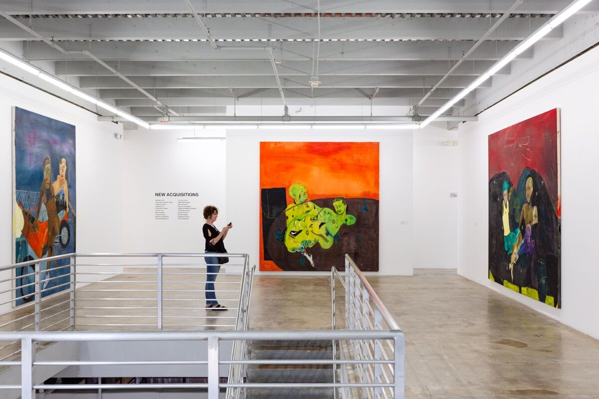 Installation view of Jonathan Lyndon Chase's work at the Rubell Family Collection. Photo by Chi Lam. Courtesy of the Rubell Family Collection.