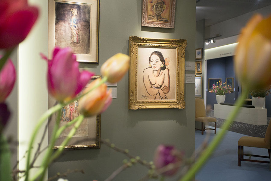 TEFAF 2015. Photo by Loraine Bodewes. Courtesy TEFAF.