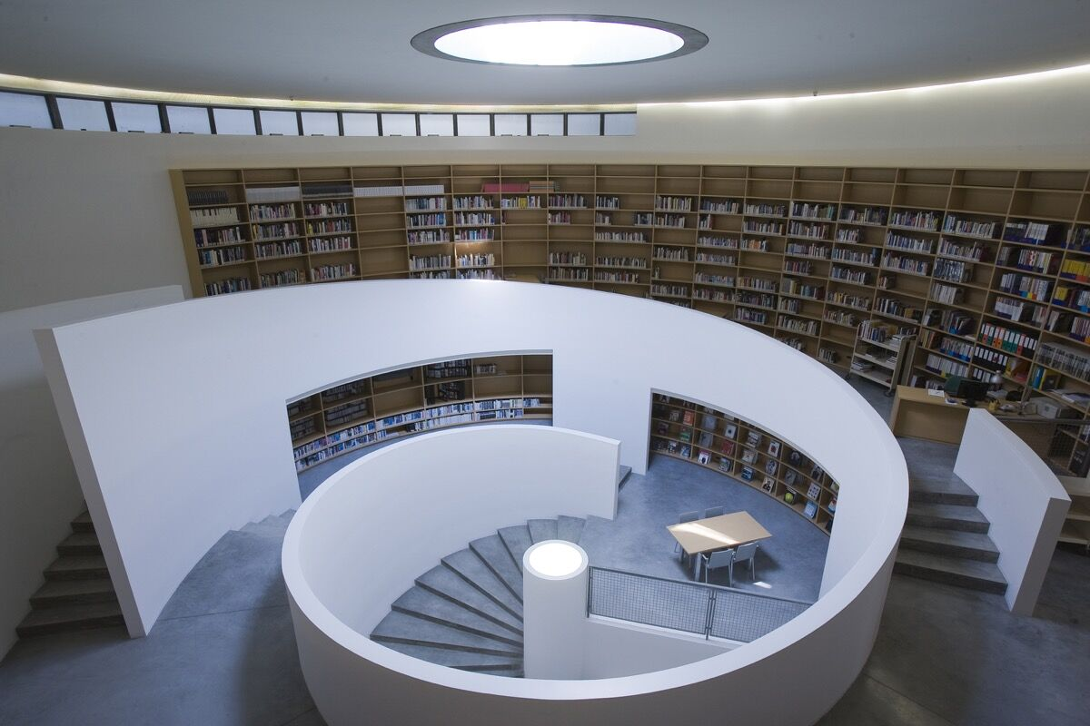 Fabrica's Library. Photo courtesy of Fabrica.