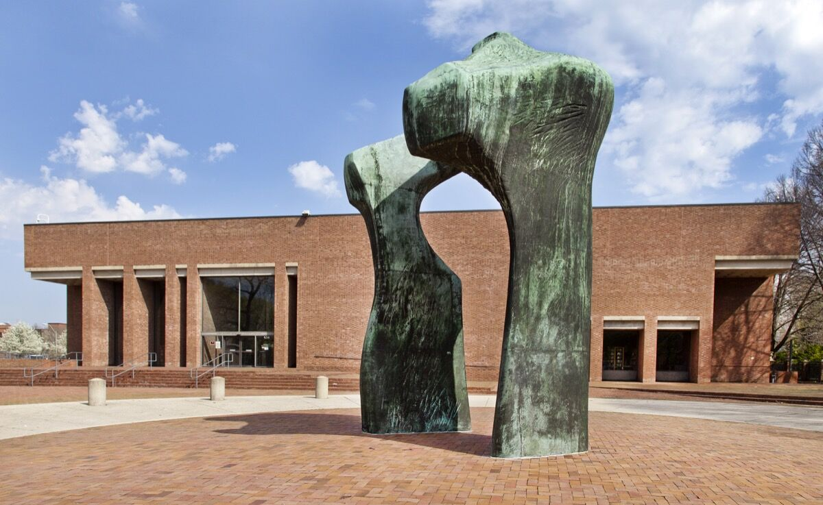 I.M. Pei, Cleo Rogers Memorial Library, 1969. Courtesy of the Columbus Area Visitors Center.