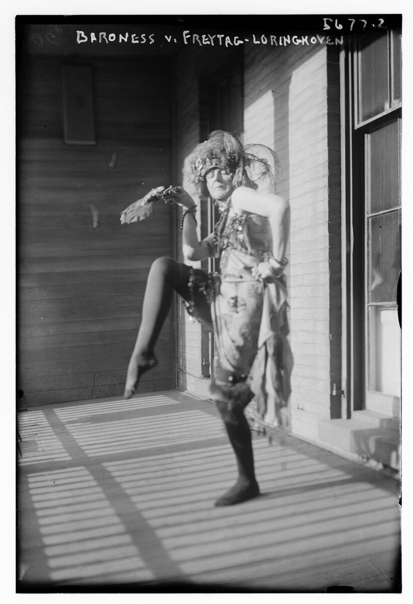 Baroness von Freytag-Loringhoven. Courtesy of the Library of Congress.