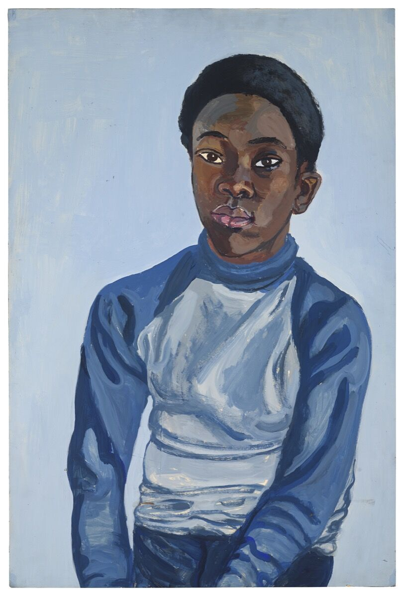 Alice Neel, Benjamin, 1976. © The Estate of Alice Neel. Courtesy of David Zwirner, New York/London and Victoria Miro, London.