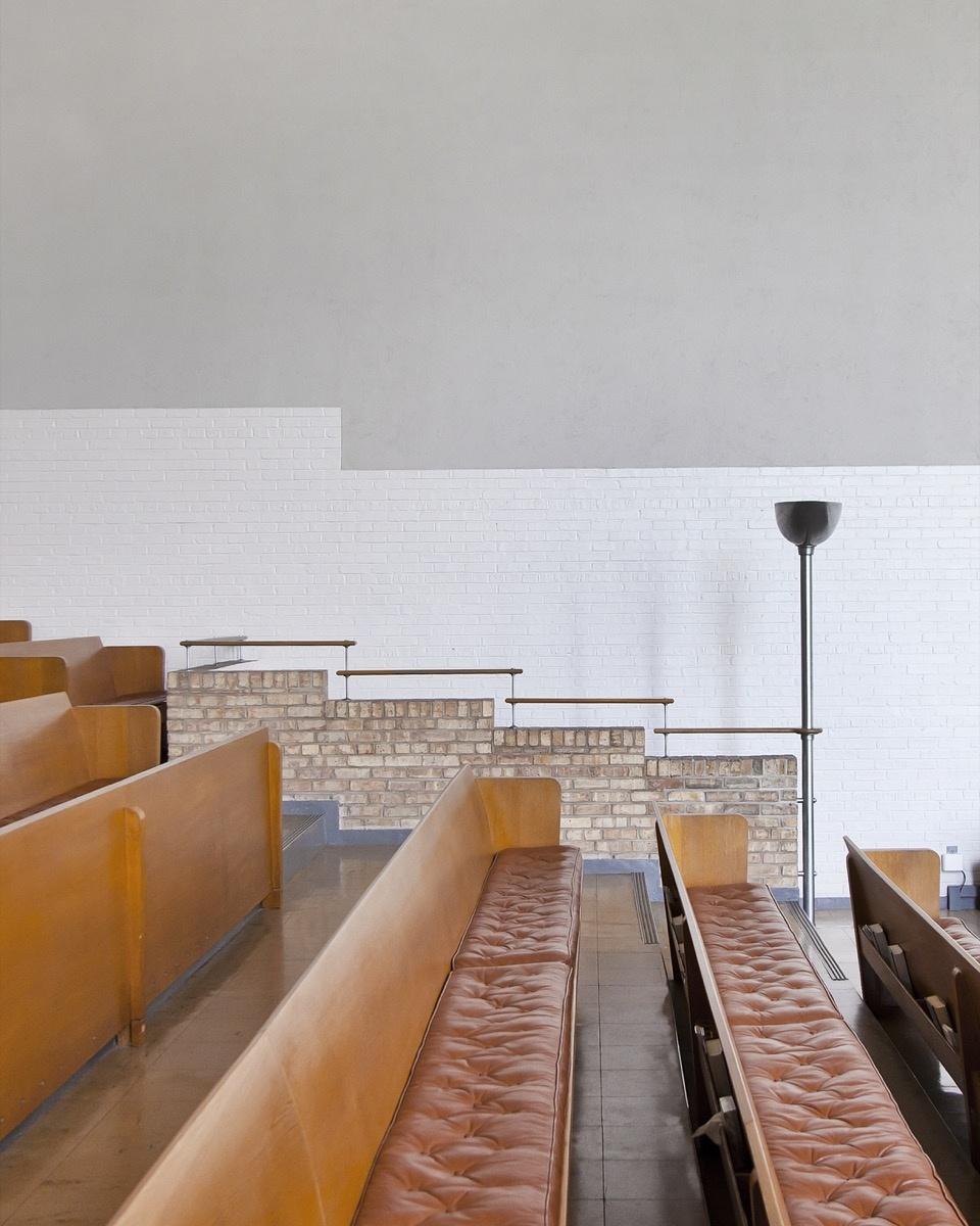 Eliel Saarinen, First Christian Church, 1942.