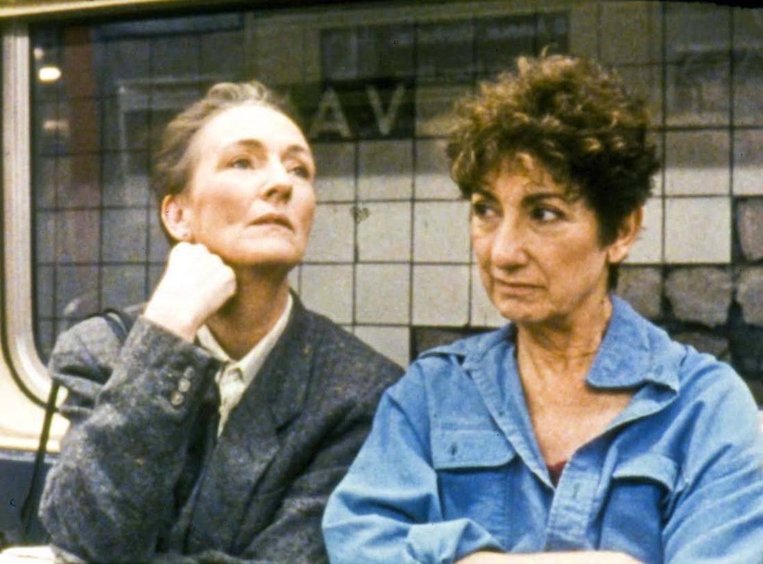 Still from Yvonne Rainer, MURDER and murder, 1996. Courtesy of Film Society of Lincoln Center.