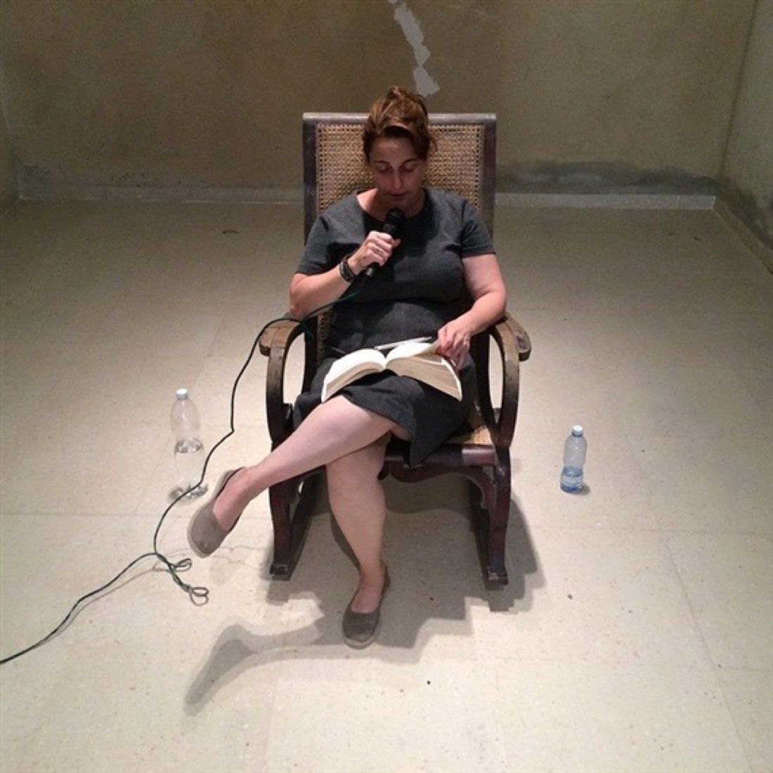 Tania Bruguera, Opening Session of the foundational process of the Hannah Arendt International Institute of Artivism, 2015. Photo by Pablo León de la Barra, courtesy of Studio Bruguera and Yo Tambien Exijo Platform.
