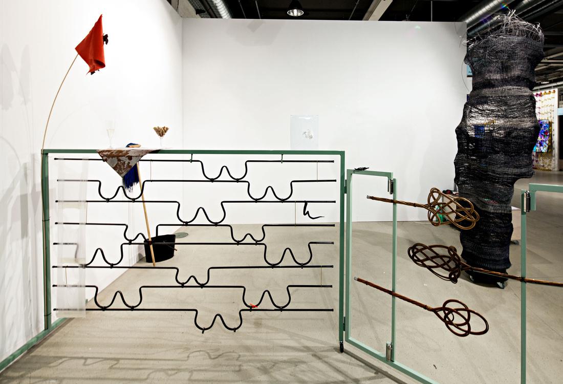 Chert at Art Basel 2015. Photo by Alec Bastian for Artsy.