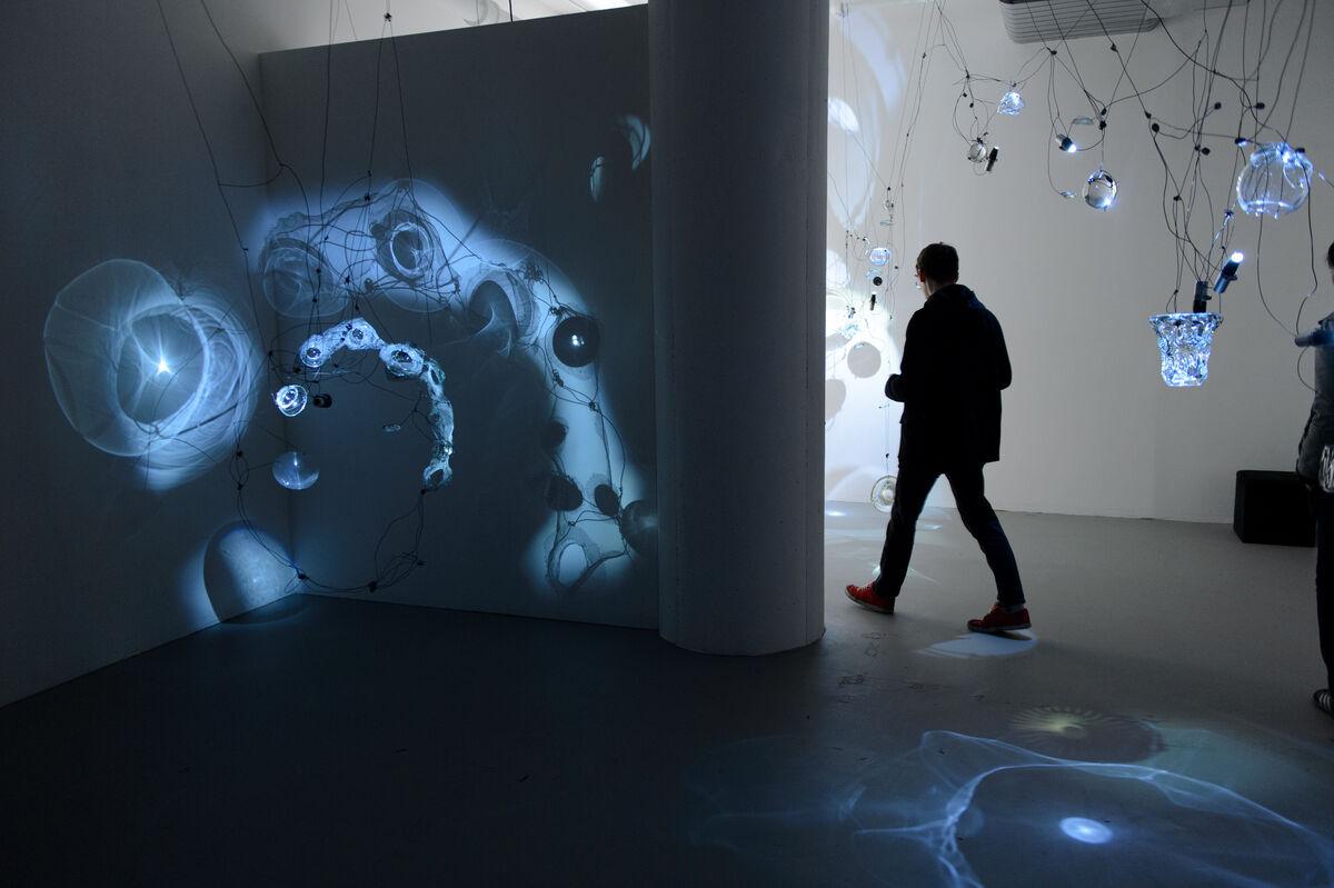 Dana Major's studio at Mana Contemporary Chicago. Courtesy Mana Contemporary.