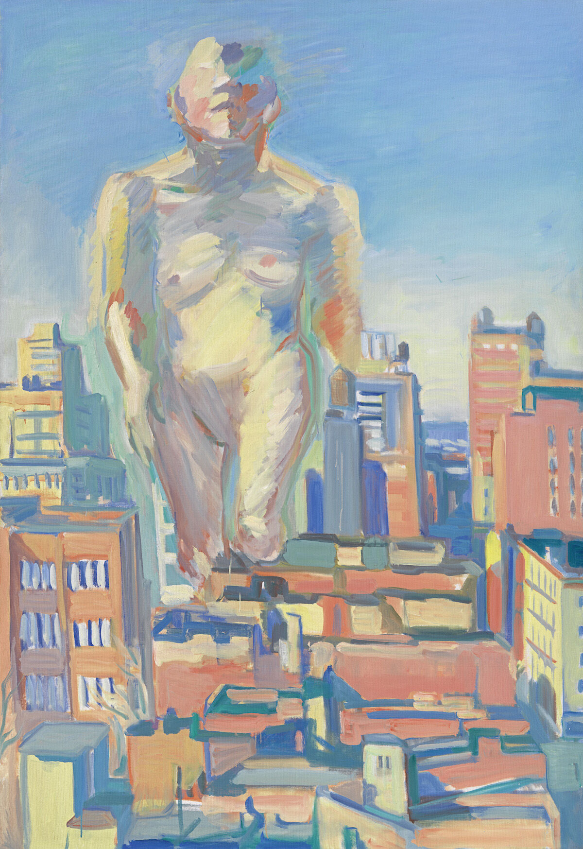 Maria Lassnig, Woman Power, 1979. Courtesy Albertina Museum, .