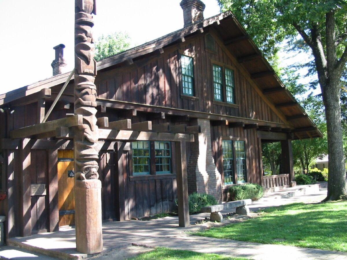Grace Hudson's Sun House. Photo by Binksternet, via Wikimedia Commons.