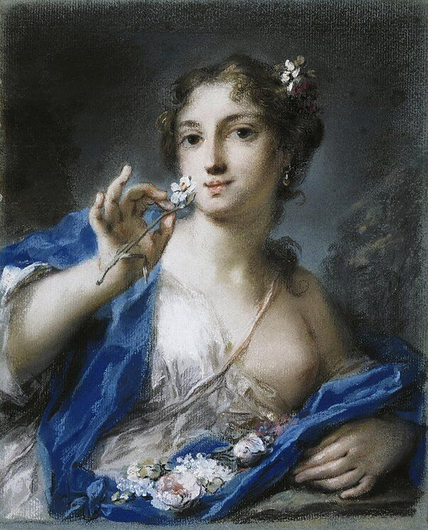 Rosalba Carriera, Spring, mid-1720s. Courtesy of The Hermitage, St. Petersburg.