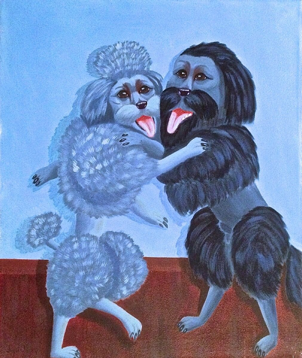 Anonymous, Blue Tango, 2014. Courtesy of the Museum Of Bad Art.