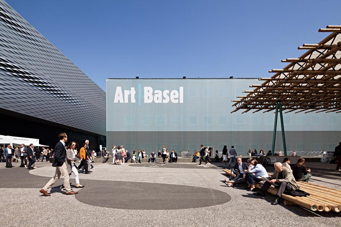 Art Basel 2015. Photo by Alec Bastian for Artsy.