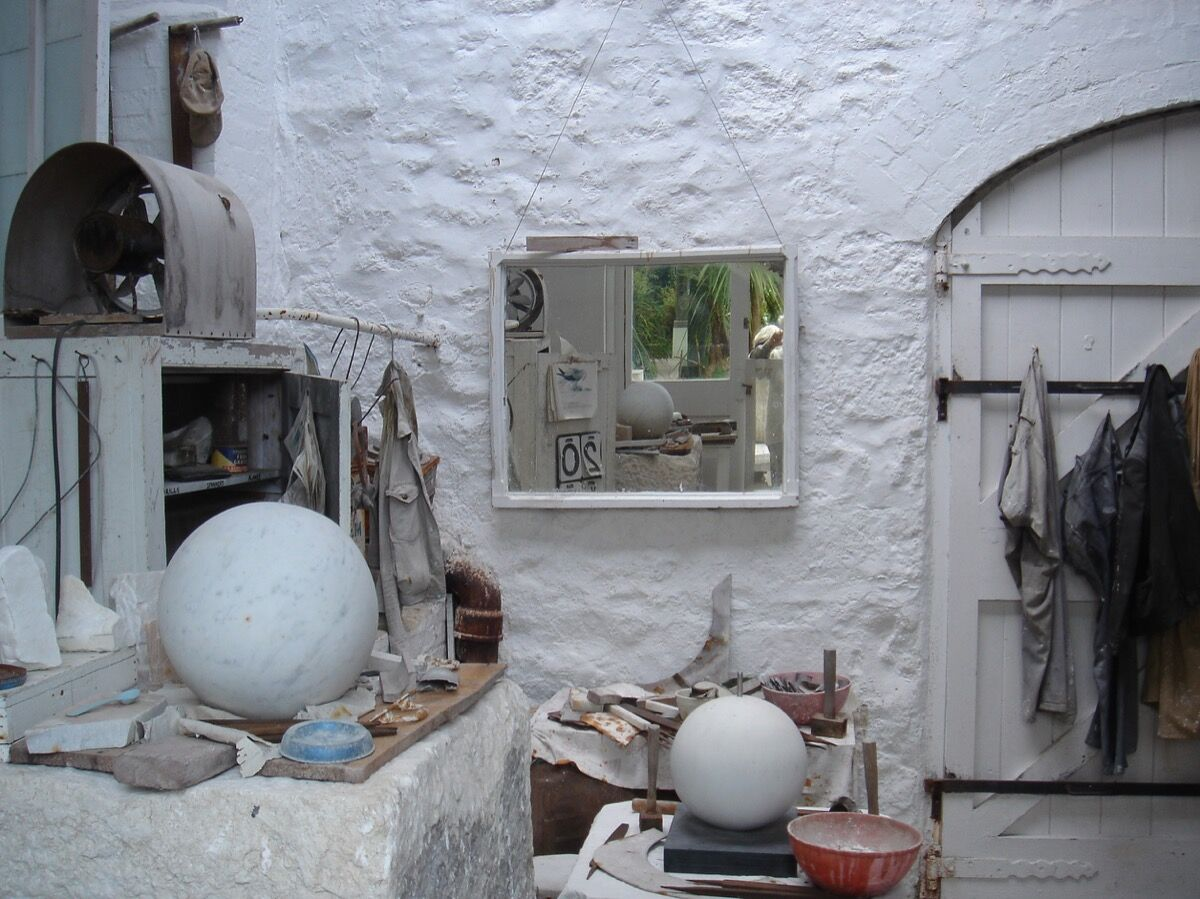 Barbara Hepworth's studio. Photo by Zoer, via Flickr.