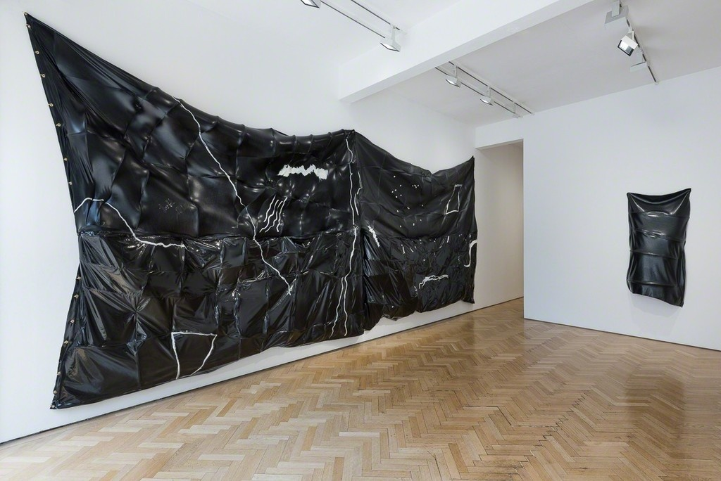 """Installation view of """"Do a Double Take and All Will Be Clear,"""" Vigo Gallery, London. Courtesy Vigo Gallery and the artist."""