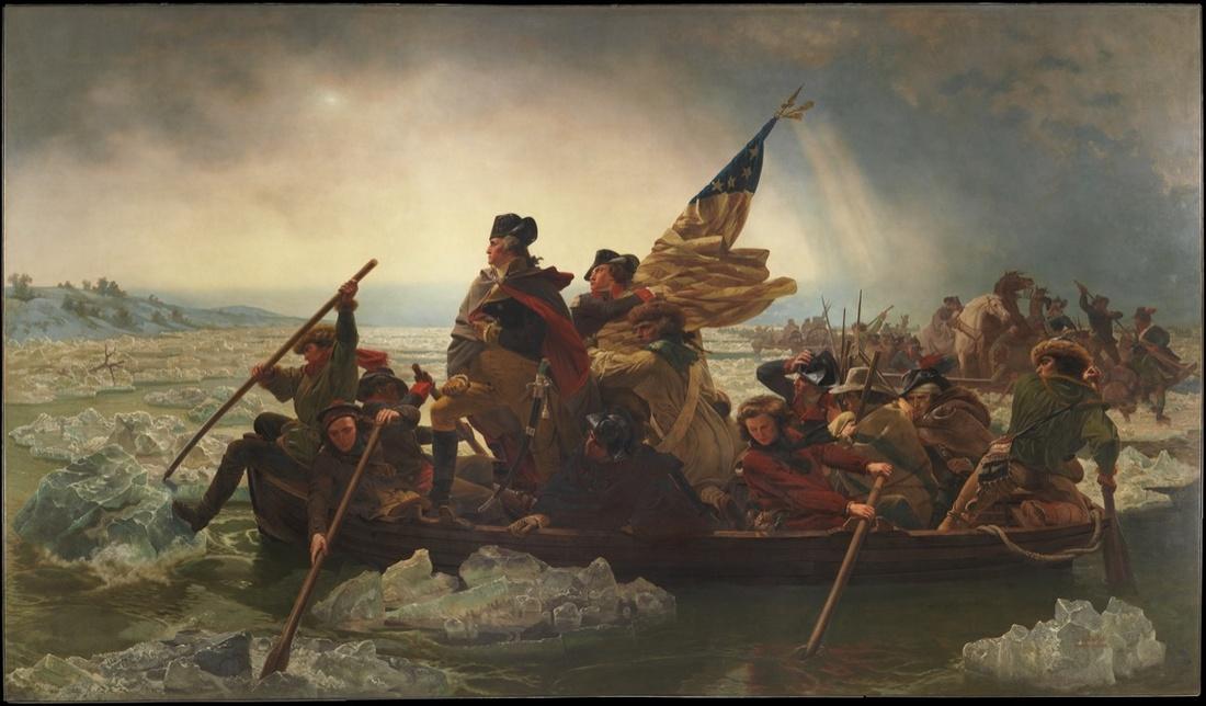 Emanuel Leutze, Washington Crossing the Delaware, 1851. Courtesy of the Metropolitan Museum of Art.