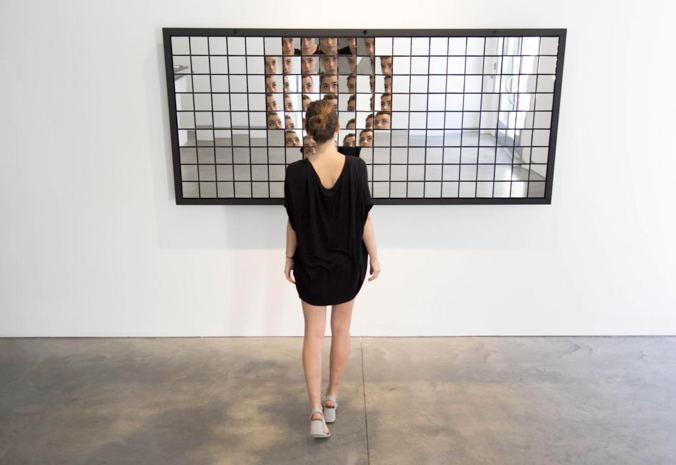 RANDOM INTERNATIONAL,Fragments, 2016. Installation view from the exhibition,Random International: On the Body, Pace Gallery, 537 West 25thStreet, New York, September 23–October 22, 2016.© Random International, Courtesy Pace Gallery/ Photography by Random International.