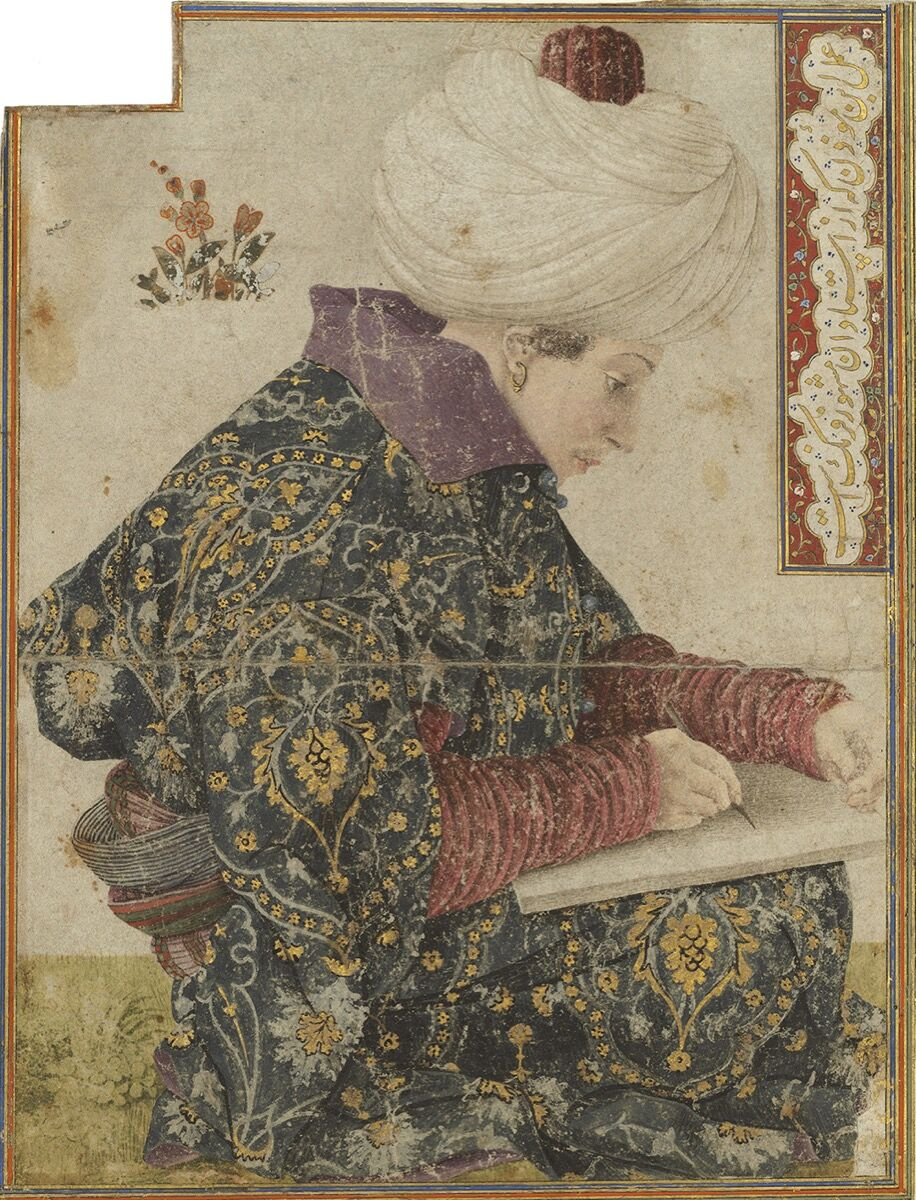 Gentile Bellini, Seated Scribe, 1479-81. Courtesy of the Isabella Stewart Gardner Museum.