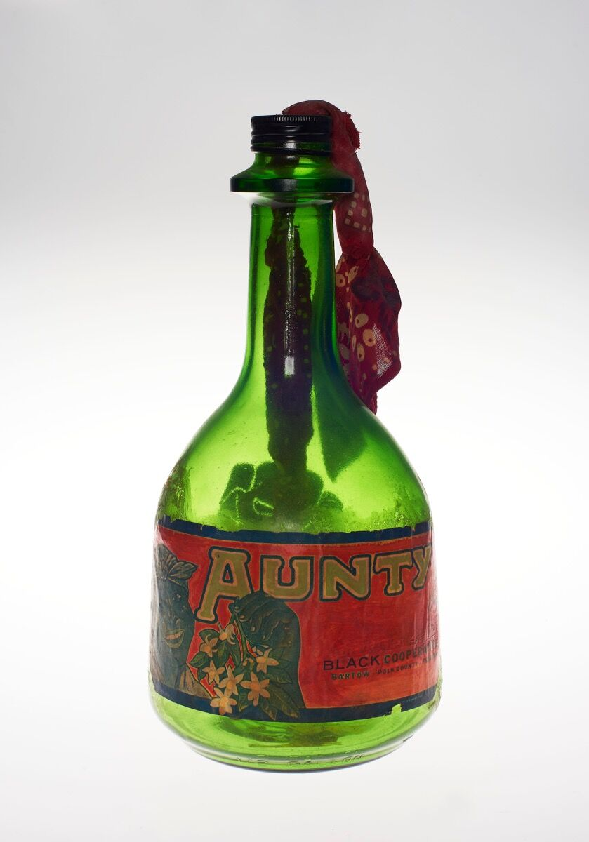 Betye Saar, The Liberation of Aunt Jemima: Cocktail, 1973. Courtesy of the Brooklyn Museum.
