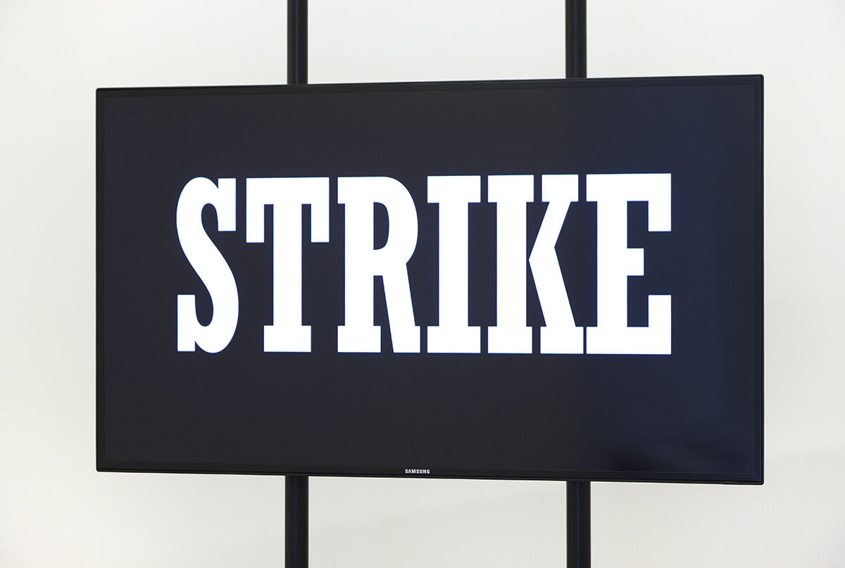 Hito Steyerl, Strike, 2010. Image courtesy of the Artist and Andrew Kreps Gallery, New York.