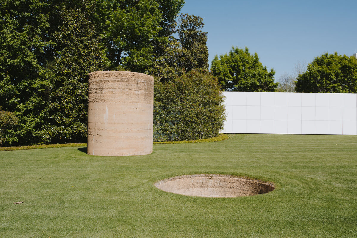 View of Nobuo Sekine, Phase—Mother Earth, 1968/2012, at The Rachofsky House. © Nobuo Sekine. Photo by Valerie Chiang for Artsy.