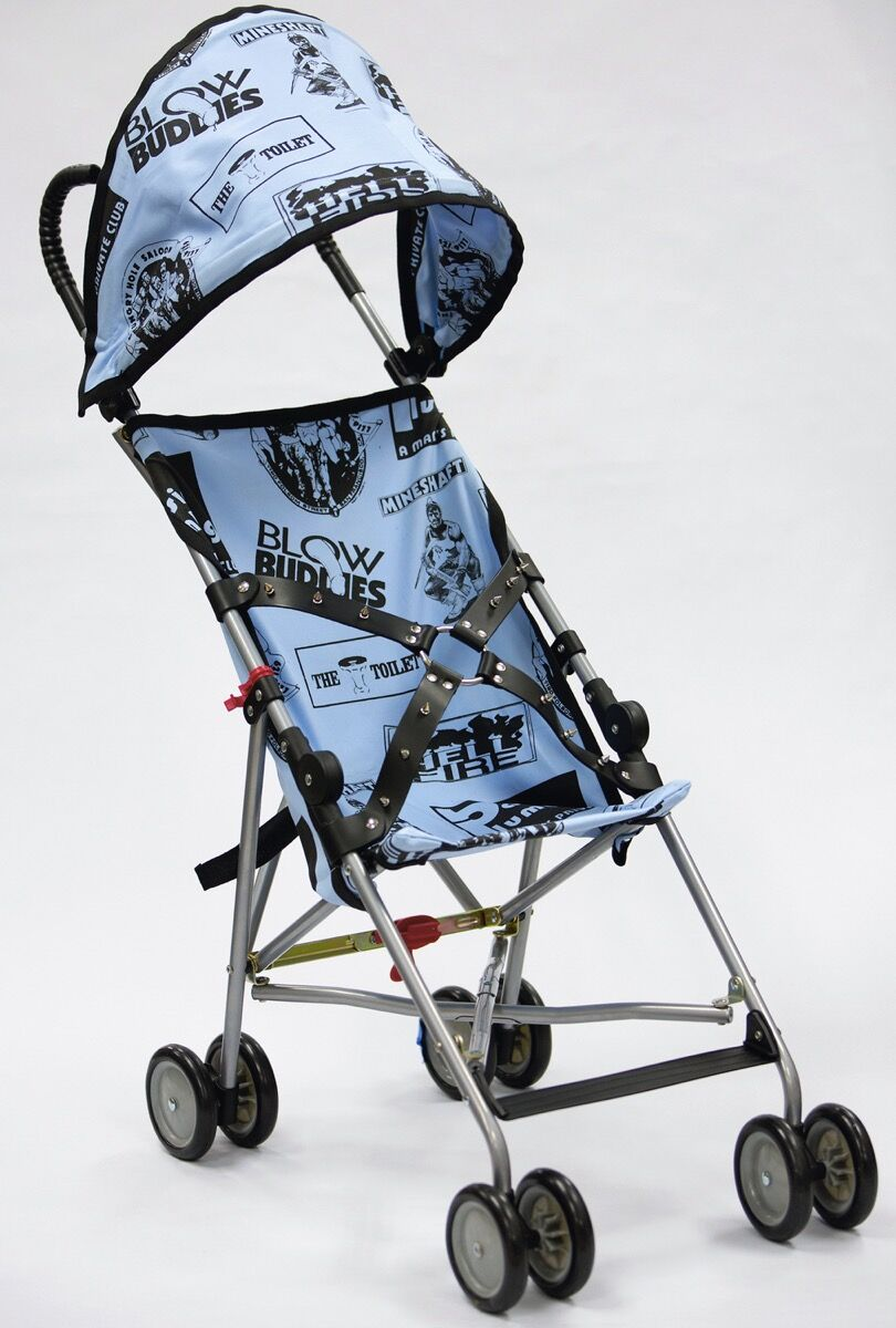 John Waters, Bill's Stroller, 2014. © John Waters. Courtesy of the artist and Marianne Boesky Gallery.