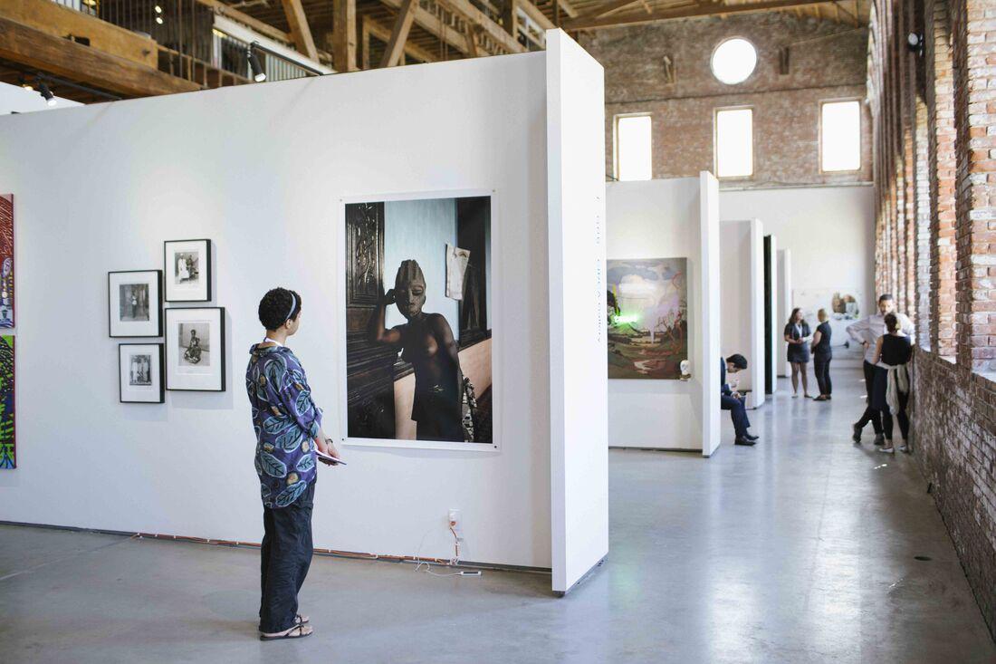 1:54 New York 2015 at Pioneer Works, Brooklyn. Image courtesy of 1:54 © Katrina Sorrentino